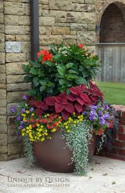 ... 011 Flower Designs Outdoor Planters Flowers Outside Pot Arrangement  Impressive Ideas Pictures Of Summer 1920 ...