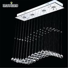 top 46 hunky dory raindrop chandelier lighting gallery modern crystal rain drop wave led ceiling