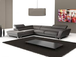 Leather Living Room Sectionals Modern Furniture Italian Leather Living Room Sectional Sofa Set
