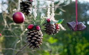 handmade outdoor christmas decorations. christmas decorating natural materials decorations ideas homemade outdoor holiday made from handmade