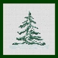 Christmas Tree Cross Stitch Chart Free Christmas Cross Stitch Patterns Christmas Tree Mini