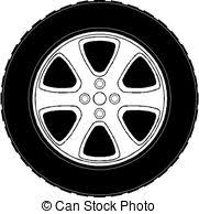 tires clipart black and white. Car Tire Clipartby To Tires Clipart Black And White