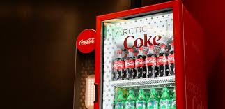 Coke Bottle Vending Machine Classy Arctic Coke CuttingEdge Coolers Make Icy Magic In Convenience