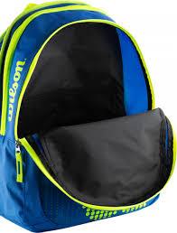 <b>Рюкзак</b> Wilson JUNIOR <b>BACKPACK</b> синий/жёлтый цвет — купить ...