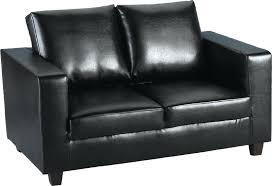 two seater leather sofa fancy black leather sofa 2 black faux leather sofa compare