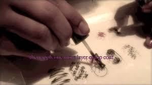 homemade nails stickers - YouTube