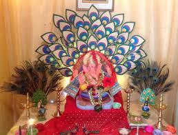 ganpati decoration ideas for vinayaka chavithi at home lovely telugu