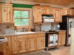 Hickory Kitchen Cabinets Knotty Hickory Kitchen Cabinets Cliff Kitchen