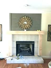 white wood fireplace mantel ideas 2 designs brick f