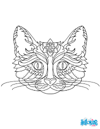 Small Picture Cat mandala coloring pages Hellokidscom