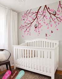 nursery tree branches wall decals with