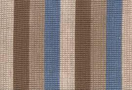 Striped Carpeting Gallery: Stripes, Beige/Blue, Jute