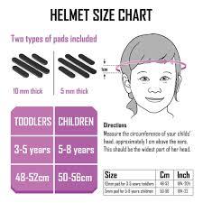 Child Ski Helmet Size Chart Funwave Kids Helmet Pink Octopus