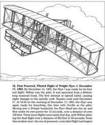 Fresh Wright Flyer Coloring Page Virancultureorg