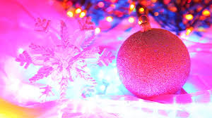 pink christmas lights background. And Pink Christmas Lights Background