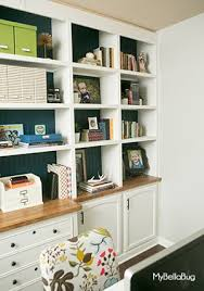 office built in. diy office built ins, diy, home office, how to, shelving ideas, in i