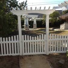 picket fence gate with arbor. Arbor-with-scalloped-picket-fence-4 Picket Fence Gate With Arbor A