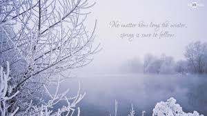 Beautiful Winter Quotes Best of Winter Scene With Quote BigHDWalls