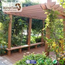 china top ing wpc material wooden pergola witj decking system for outdoor china wooden pergola wpc pergola