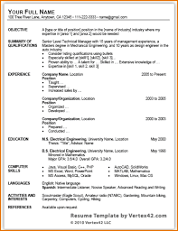 Word Resume Template 2010 Resume Templates Word 24 New Microsoft Word Resume Template 24 24