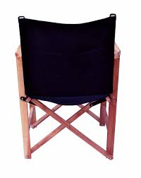 outdoor director chair. Dining Height Camping Chair Wooden Black Finish Outdoor Beach Folding Director Chairs Canvas With