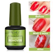 Magic Soak-Off Gel Nail Polish Remover Professional ... - Amazon.com