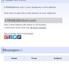 10 Mail Free Email Temporary - Creator Address Minute