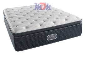 Offshore Mist Pillow Top Plus A Simmons BeautyRest Recharge Mattress
