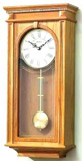 bulova wall clock table clock wall clocks pendulum wall clocks pendulum chiming oak wall with regard bulova wall clock