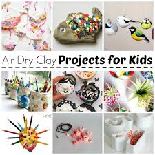 Air Drying Clay Projects - Air Dry Clay Projects - we LOVE working with air  dry