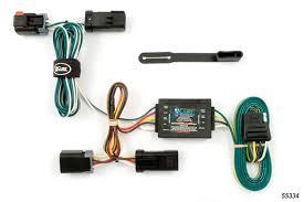 dodge grand caravan 1996 2000 wiring kit harness curt mfg 55334 1996 2000 dodge grand caravan curt mfg trailer wiring kit 55334