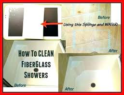 best cleaner for plastic bathtub cleaning fiberglass oven tubs with baking soda paint