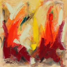 abstract art 61 by lynne taetzsch acrylic painting