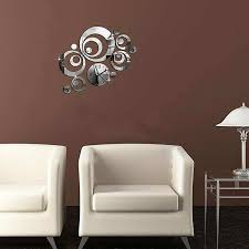 decorative mirrors bedroom wall best of 3d flower mirror wall decor decorative wall mirror clocks