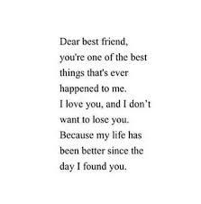 Dear Best Friend Sprüche Zitate Freunde Zitate Sprüche über