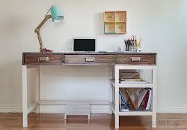 easy diy modern farmhouse desk plans and tutorial