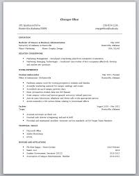 resume templates no work experience resume examples for jobs with .