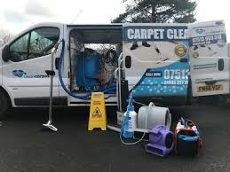 carpet cleaning van car