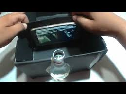 how to make smartphone projector without magnifying glass