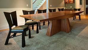 modern dining room chairs nyc. modern walnut dining table and ebonized charis modern-dining-room room chairs nyc t