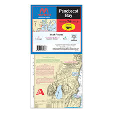 Maptech Waterproof Charts Maine Wpc074 03 74 Penobscot Bay