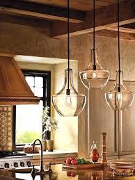 kitchen light fixtures ceiling triple