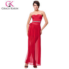 Grace Karin Sexy Occident Womes Padded Strapless Red Short Dress With Open Leg Cl008942 1 Buy Red Short Dress Red Strapless Short Dress Short Dress