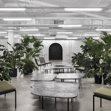office interiors magazine. Atelier Barda Combines Foliage With Bespoke Furniture At Fashion Brand Offices Office Interiors Magazine