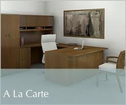 office desks contemporary. A La Carte Wood Desk Contemporary Office Furniture Desks U