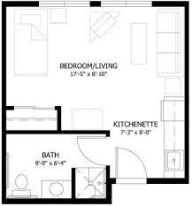 Small Studio Apartment Floor Plans   Studio Apartment