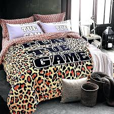Animal Print Quilts – co-nnect.me & ... Leopard Print And Camouflage Bedding Set Queen King Size Brushed Cotton  Fabric Warm Winter Bed Sheets ... Adamdwight.com