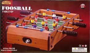 Miniature Wooden Foosball Table Game Amazon Wooden Classic Mini Table Top Foosball Soccer Game 25