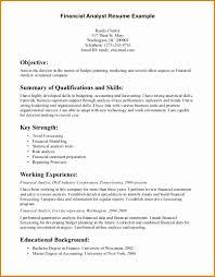 6 Financial Analyst Resume Besttemplates Besttemplates