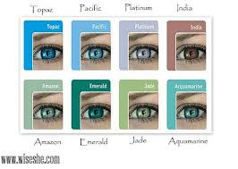 Bausch And Lomb Contact Lenses Color Chart Bausch And Lomb Natural Look Color Lenses Review Blue